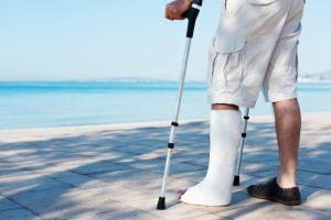claim for a broken leg